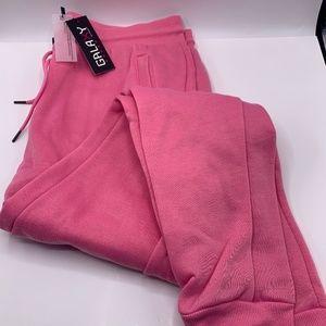 Galaxy By Harvic Pink Sweat Pants 3XL